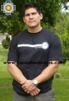 100% Pima Cotton Tshirt Nazca Ray - Product id: cotton-tshirt09-12 Photo03