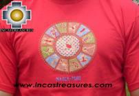100% Pima Cotton Tshirt Nazca Red - Product id: cotton-tshirt09-13 Photo02