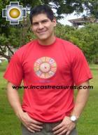 100% Pima Cotton Tshirt Nazca Red - Product id: cotton-tshirt09-13 Photo01