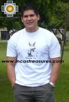 100% Pima Cotton Tshirt Peruvian Dog - Product id: cotton-tshirt09-24 Photo03