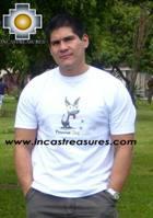 100% Pima Cotton Tshirt Peruvian Dog - Product id: cotton-tshirt09-24 Photo01