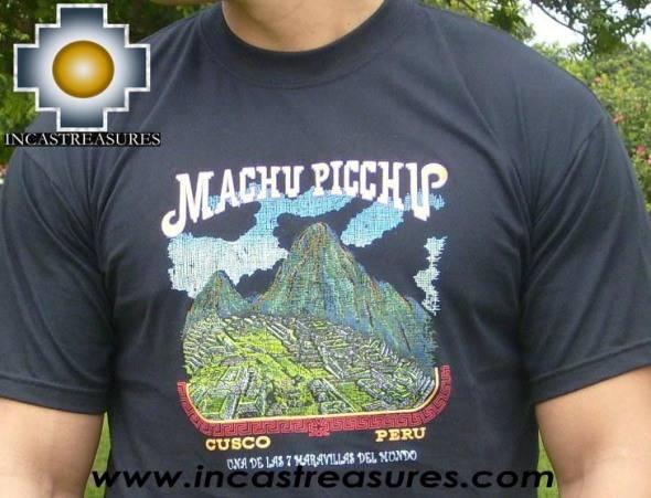 Cotton Tshirt Machu Picchu