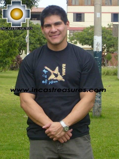 Cotton Tshirt Nazca Black