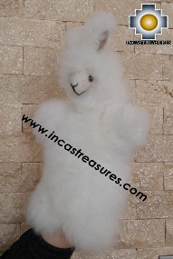Alpaca Puppet little llama cusi - 100% Baby Alpaca - Product id: PUPPET16-02 Photo03