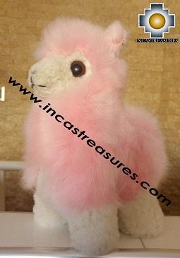 Alpaca Stuffed Teddy Bear Alpaca Sugar - 100% Baby Alpaca photo 05