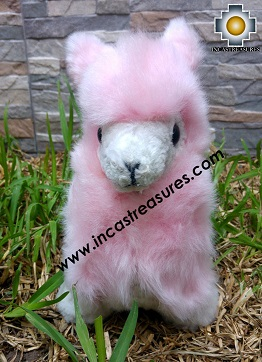Alpaca Stuffed Teddy Bear Alpaca Sugar - 100% Baby Alpaca , photo 03