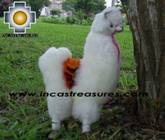 Alpaca Stuffed Animals llama Family - Product id: TOYS08-40 Photo02