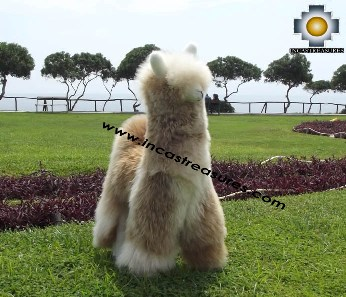 Alpaca Stuffed Llama - Suresh The Giant - Product id: TOYS12-07 Photo09