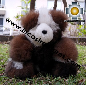 Alpaca Stuffed Teddy Bear Giant Okoshi - 100% Baby Alpaca photo 05