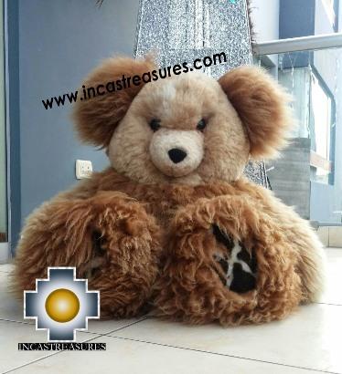 Alpaca Stuffed animal Giant Okoshi - 100% Baby Alpaca