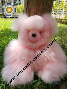 Alpaca Stuffed Teddy Bear Giant Okoshi - 100% Baby Alpaca photo 05