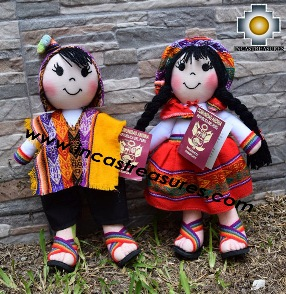 Andean Doll couple- Product id: GAMES16-01, photo 02
