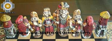 Big wooden classic Chess Set - 100% handmade - Product id: toys08-64chess, photo 09