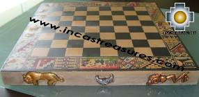 Big wooden classic Chess Set - 100% handmade - Product id: toys08-64chess, photo 08
