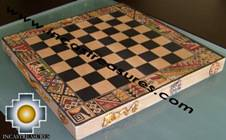 Big wooden classic Chess Set - 100% handmade - Product id: toys08-64chess, photo 07