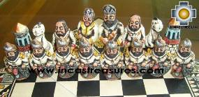 Big wooden royal Chess Set - 100% handmade - Product id: toys08-65chess, photo 10