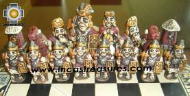 Big wooden royal Chess Set - 100% handmade - Product id: toys08-65chess, photo 01