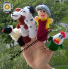 Visit our HAND-KNIT finger puppets