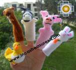 Hand-Knit finger puppet  farm Special- Product id: TOYS08-44, photo 04