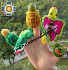 Hand-Knit finger puppet  jungle Special- Product id: TOYS08-43, photo 01