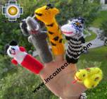 Hand-Knit finger puppet  wild-animals Special- Product id: TOYS08-45, photo 02