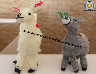 Special Hand-knit GIANT  finger puppets