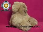 Baby Alpaca Big and Soft Brown Teddy Bear - BROWNIE photo 05