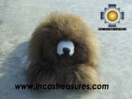 Happy little brown dog- alpaca stuffed animal - KUKIN - Product id: TOYS08-27 Photo01