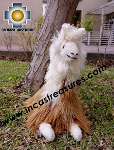 visit and meet CHEVERE alapca stuffed animal