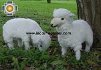 Alpaca Stuffed Animals Sheep Family - Product id: TOYS08-39 Photo08