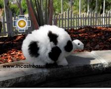Alpaca Stuffed Animal Turtle Flash - 100% Baby Alpaca