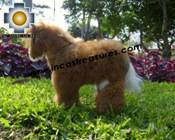Elegant Baby Alpaca Horse - MISTER HORSE - Product id: TOYS08-18