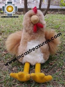 alpaca stuffed animal turuleca-chicken , photo 02