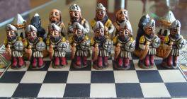 Big wooden classic Chess Set - 100% handmade - Product id: toys08-66chess, photo 10