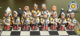 Big wooden classic Chess Set - 100% handmade - Product id: toys08-66chess, photo 07