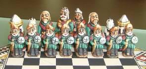 Big wooden royal Chess Set - 100% handmade - Product id: toys08-67chess, photo 10