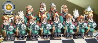 Big wooden royal Chess Set - 100% handmade - Product id: toys08-67chess, photo 08