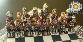 Big wooden royal Chess Set - 100% handmade - Product id: toys08-67chess, photo 07