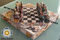 Big wooden royal Chess Set - 100% handmade - Product id: toys08-67chess, photo 02
