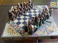 Big wooden royal Chess Set - 100% handmade - Product id: toys08-67chess, photo 01