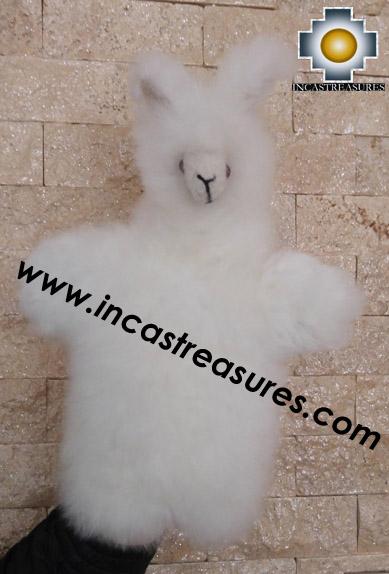 Alpaca Puppet little llama cusi - 100% Baby Alpaca - Product id: PUPPET16-02