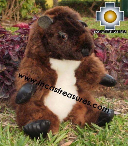 Alpaca Stuffed Animal -justin-beaver - Product id: TOYS12-02 Photo01