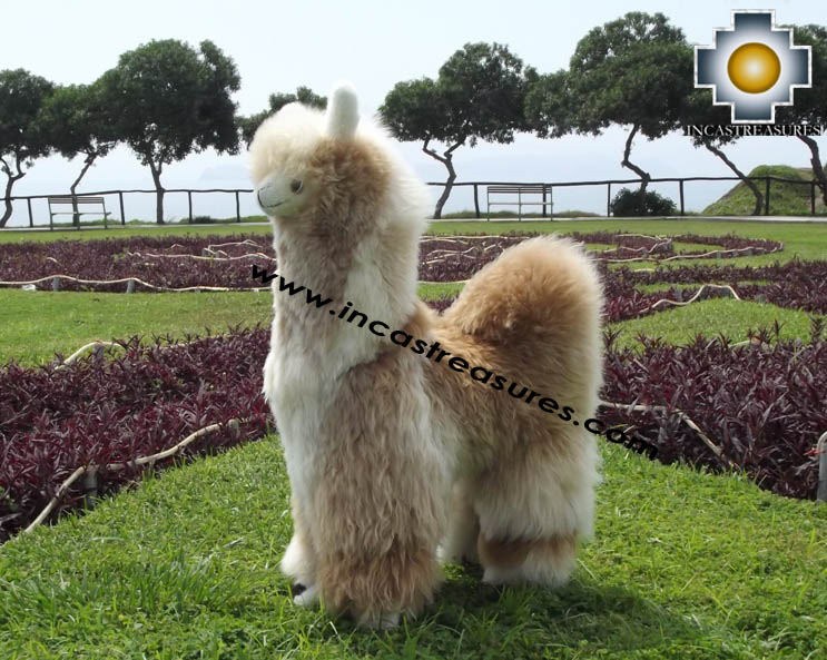 Alpaca Stuffed Llama - Suresh The Giant - Product id: TOYS12-07
