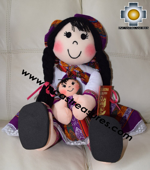 Andean Doll josefina- Product id: GAMES16-04