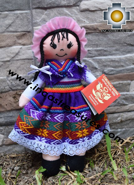 Andean Doll juanita- Product id: GAMES16-03