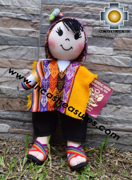 Andean Doll paco- Product id: GAMES16-06