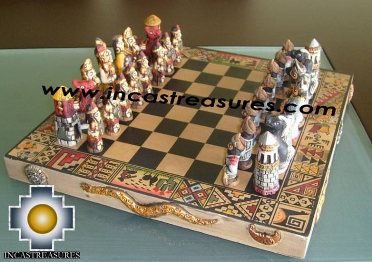 Big Wooden Classic Chess Set   100% Handmade   Product Id: Toys08 64chess