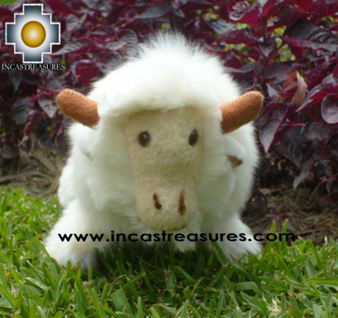 Alpaca Stuffed Animal Buffalo cuernitos - Product id: TOYS08-58 Photo01