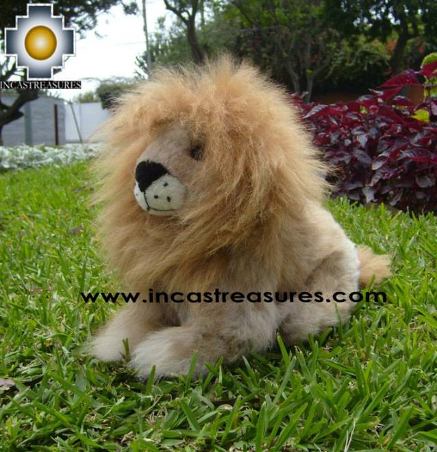 Alpaca Stuffed Animal Squirrel lion-chumba - Product id: TOYS08-59 Photo06