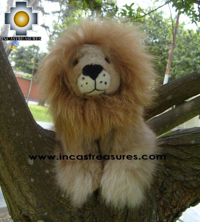 Alpaca Stuffed Animal Squirrel lion-chumba - Product id: TOYS08-59 Photo07